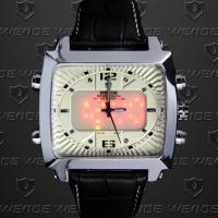 Weide Soldier Dual Time Wrist Watches 30m Waterproof ,Outdoor Sport Watches Manufactures