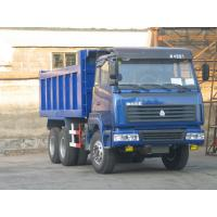 Long Cabin Heavy Duty Dump Truck For Stone Loading Low Oil Consumption Manufactures