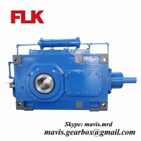 China Bevel Helical Industrial Gearbox Reduction Gear Box transmission gear reducer heavy duty gearbox on sale