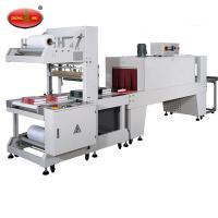 BZJ5038B Bottle packing Semi-Automatic shrink sleeve labeling machine and BSE5040A PE Film shrink packaging machine Manufactures