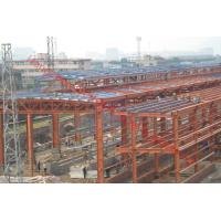 Prefabricated Structure Steel Shed With Gable Roof Or Mono-pitch Roof Manufactures