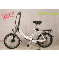 250 W Motorized Folding Bike / Bicycle , Recycle Foldaway Electric Bike Manufactures