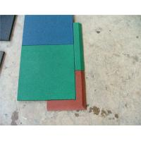 Anti Slip Playground Rubber Mats Coated PVC Rubber Safety Green Manufactures