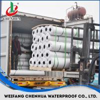 PVC waterproof membrane with Reinforced 1.2mm-2.0mm Manufactures