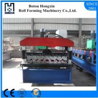 Elelctrical Motor Roof Roll Forming Machine High Efficient Hydarulic Pump Manufactures