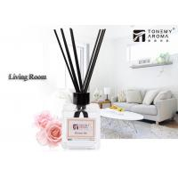Desk Decorative 120ml Essential Oil Reed Diffuser Rattan Sticks For Air Fresheners Manufactures