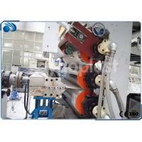 China PP / PS / PE / ABS Plastic Sheet Making Machine Extrusion Line Single Twin Screw Ertruder on sale