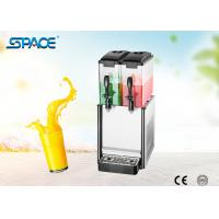 Unbreakable Fruit Juice Dispenser Machine Twin Tanks CE Certification Passed Manufactures