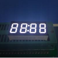 """0.36"""" Common Anode 7 Segment LED Clock Display Ultra Bright White For Digital Timer Control Manufactures"""