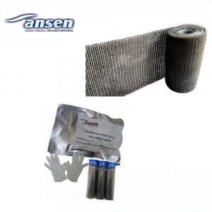 China Water Activated Fiberglass Repair Wrap High Pressure Resistant Pipe Repair Bandage on sale