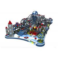 Naughty Castle Indoor Playground Equipment Commercial Kai Qi Playground With Large Slides Manufactures