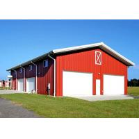 China Stable Metal Warehouse Buildings / Warehouse Building Kits With Low Maintenance on sale