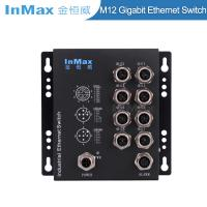 Buy cheap EN50155 M508B X-code 1000Mbps 8 Port M12 Railway Gigabit Industrial Ethernet from wholesalers