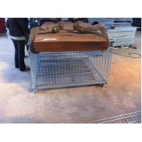 China Zinc Plate Wire Mesh Container Mesh Storage Boxes Up To 1.2 Tonne on sale