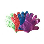 Disposable Food Preparation Gloves , LDPE Plastic Gloves For Serving Food Manufactures