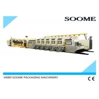 China Fully Automatic Flexo Printer Slotter Die Cutter , Rotary Die Cutting Equipment on sale