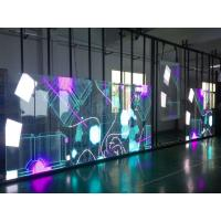 China Outdoor Transparent LED Display P3.91-7.82 1920Hz Refresh Frequency Ultra Power Saving Design 1000x500mm on sale