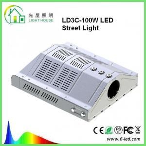 Outdoor Led Street Light 100w Parking Lot Lighting 85-265v Warm White 3000-3500k Manufactures