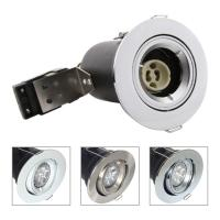 China GU10 Aluminium Centre Tilt LED Fire Rated Downlight - Chrome Color