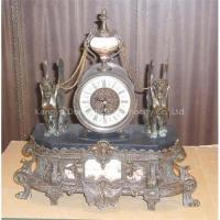 China Brass Clock on sale