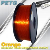 High Strength PETG Filament  , Transparent 3D Printing Filament  Resistance Acid Manufactures