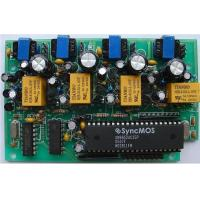 HASL Pcb Printed Circuit Board Assembly  Fr4 135 1OZ copper weight with several relays Manufactures