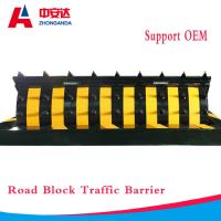 Security Spike Blocker System Traffic Safety Barriers Hydraulic IP68 For Roadway Manufactures