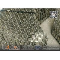 AISI304 Stainless Steel 14 Gauge x 50mm hexagonal Grid Mesh Panel Manufactures