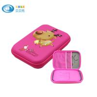 Fashion Hard EVA Pencil Case Pencil Pouch With Embossed LOGO For Kids