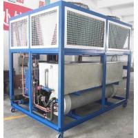 3n / 380v / 50hz 108kw Air Cooled Scroll Chiller Cooling Water Chiller With Heat Exchanger For Industry RO-40A Manufactures