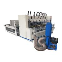 Automatic Feeder Corrugated Slitter Scorer Machine With Paper Collection Manufactures