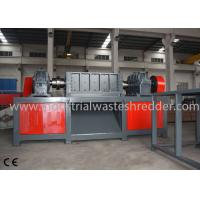 Metal Plate Scrap Metal Recycling Machine , Tin Can Shredder Good Toughness Manufactures