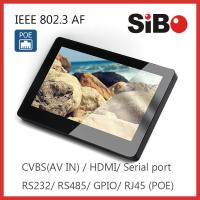 Shenzhen Sibo 7 Inch Android OS Access Control Panel With POE Wall Mounting Bracket Manufactures