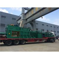 China Semi - Automatic Waste Plastic Baler Machine With Manual Strapping on sale