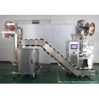 Buy cheap Pyramid Tea Bag Packing Machine with Outer Bag Package from wholesalers