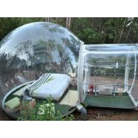 Transparent Lawn Outdoor Inflatable Tent Clear Inflatable Camp Tent For Family Manufactures