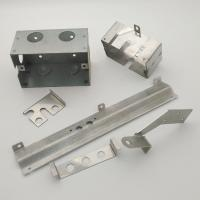 China Precise Process Sheet Metal Stamping Parts Stainless Steel Material on sale