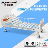 Single Crank One Function Manual Hospital Patient Bed , Manual Adjustable Bed Manufactures