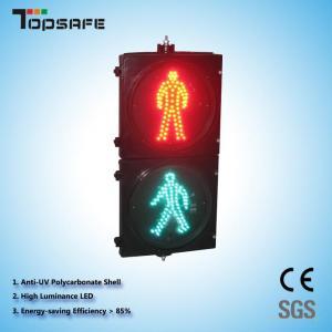 "300mm (12"") Static Pedestrian Traffic Light (TP-RX300-3-302-S) Manufactures"