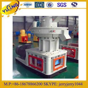 China YULONG wood sawdust rice husk EEB straw biomass pellet making machine on sale