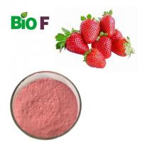 Water Solube Fruit Extract Powder Strawberry Extract Powder  For Health Care Manufactures