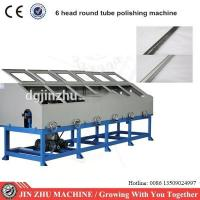 6 Heads Automatic Buffing Machine , Stainless Steel Pipe Polishing Machine Manufactures