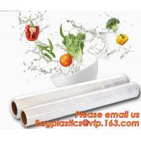 Stretch And Fresh Re-usable Food Wraps Silicone Plastic Stretch Cling Film, Food grade LDPE cling film,LDPE stretch film Manufactures