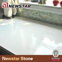 low maintain snow white quartz countertop Manufactures