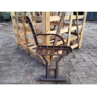 Stainless Steel Antique Cast Iron Park Bench Ends Spray Paint Decoration In Garden Manufactures