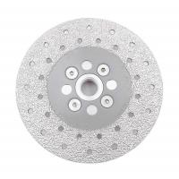Double Sided Diamond Cutting Blade & Grinding Disc 5/8-11 Flange Diamond Grinding Wheel Manufactures