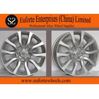China 20 inch Range Rover Hyper Silver Replica Alloy Wheels 20x8.5 Size on sale