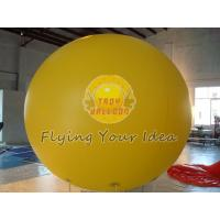 Big Yellow Inflatable Advertising Balloon with Full digital printing for Sporting events Manufactures