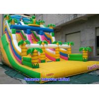 China Tropical Jungle Inflatable Outdoor Toys 7mx4mx5m Huge Space For Children on sale