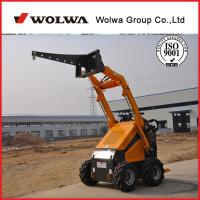 Quality Wolwa GN380 wheel mini skid steerloader for export for sale